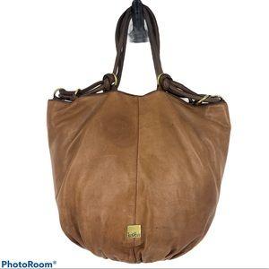 Kooba Hobo Bucket Bag (brown/Cognac) Cassandra